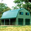 Fair Dinkum Quaker Barn with Horizontal Cladding
